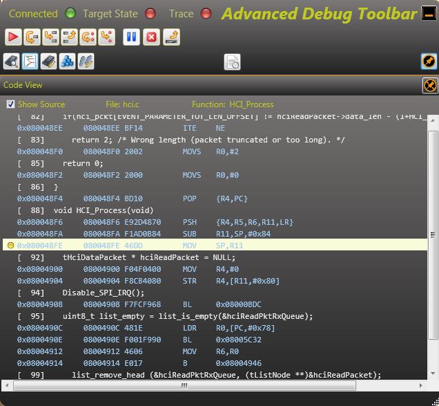 Advanced Debug Toolbar (ADT) Functions